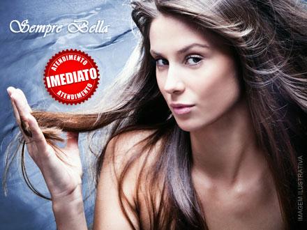 70% de Desconto em Cristalização de Fios na Sempre Bella por apenas 29,90. Oferta válida para cabelos com até 30cm!