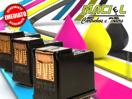 75% OFF em Recarga de Cartuchos Tinta Preta ou Colorida da Marca HP no Maciel Cartuchos, de 20,00 por apenas 5,99.