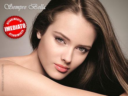 Progressiva Secret Hair na Sempre Bella por apenas 45,00. Oferta válida para cabelos com no máximo 30cm!