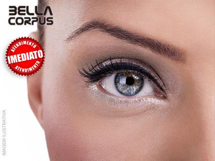 Seu olhar marcante! Design de Sobrancelha + Aplicação de Henna na Bella Corpus por apenas 14,90.