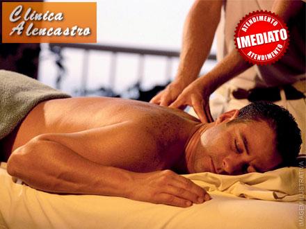 Sessão de Massagem Tântrica para Homens na Clínica Alencastro, de 80,00 por apenas 14,90.