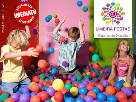 Cama Elástica, Piscina de Bolinha e Pula-Pula: Locação de 2 Brinquedos, por 109,00! Atendimento imediato!