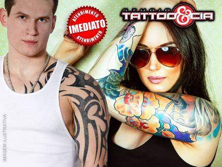 Tatuagem de 10x10cm ou 50% OFF em qualquer outro tamanho com um dos Melhores Profissionais de Campo Grande, por 89,90.