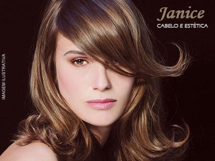Botox Capilar + Escova Modeladora ou Corte na Janice Cabelo e Estética, por apenas 34,99.