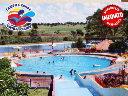 Momentos de Alegria e Laser! Day Use no Novo Campo Grande Praia Clube, por apenas 15,00.