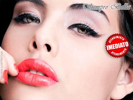 Maquiagem Definitiva para Sobrancelha, Boca ou Olhos na Sempre Bella, por apenas 79,00.