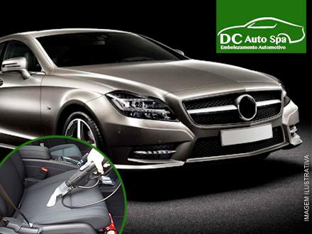 Seu carrão brilhando! Polimento + Cristalização + Higienização do Interior + Leva e Traz no DC AutoSpa, de 200,00 por 99,99.