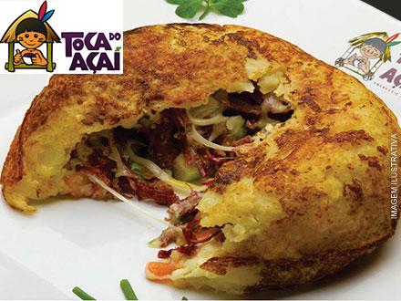 Batata Recheada (4 Opções de Sabores) na Toca do Açaí da Av. Getúlio Vargas, de até 19,90 por apenas 9,90. Serve até 2 pessoas!