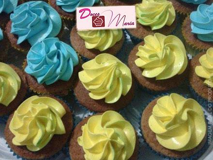 Deliciosas guloseimas! Kit Festa com 35 MiniCupcakes + 24 Mini Trufas na Doces Maria, por apenas 29,99.