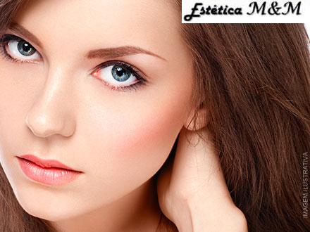 Design de Sobrancelhas + Higienização Facial + Hidratação Facial + Fotoproteção na Estética M&M, por apenas 14,90.