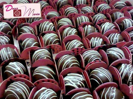 20 Mini Trufas Recheadas (6 Opções de sabor a escolher) da Doces Maria, por apenas 9,99.