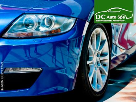 Polimento + Cristalização + Limpeza Interna Básica + Leva e Traz no DC Auto Spa, por apenas 119,99. Parcele em até 6x!