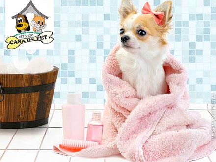Banho+Tosa Higiênica+Corte das Unhas+Limpeza de Ouvidos+Escovação dos Dentes+Hidratação+Finalizador de Fios+Bônus: 15,99.