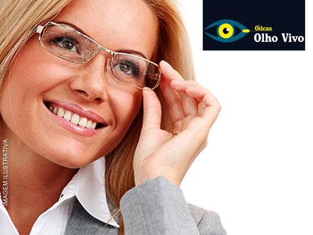 Pague 9,90 e GANHE a Armação na Compra de Lentes Multi Focais ou Anti Reflexo nas Óticas Olho Vivo!