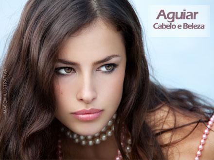 Uma repaginada em seu visual! Corte Feminino + Escova no Aguiar Cabelo e Beleza, por apenas 14,99.