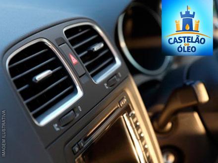 Novidade! Higienização de Ar Condicionado Automotivo com Ozônio no Castelão do Óleo: 39,90! Válido para todos os veículos!