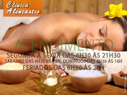 Sessão de Massagem Tântrica para Mulheres na Clínica Alencastro, por apenas 39,90.