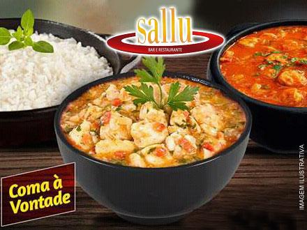 Almoço do Dia das Mães é no Sallu! Festival de Peixes à Vontade (Individual) + Sobremesa, por 29,90. CUPONS LIMITADOS!