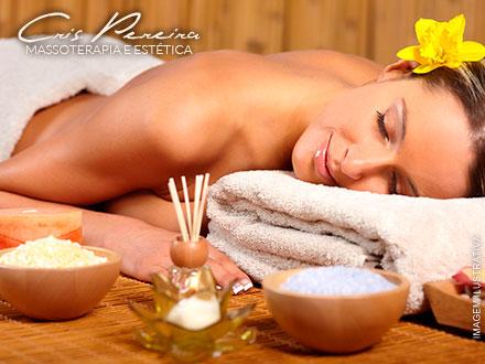 Presentão para as mães! 2 Massagens Relaxantes + Aromaterapia + 2 Hidratações Faciais Valmari na Cris Pereira, por 29,90!