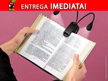 Sua leitura mais confortável! Luminária LED Dupla para Leitura por apenas 45,90. Entrega Imediata + Frete Incluso.