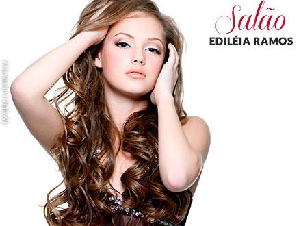 Seus cabelos com um brilho irradiante! Luzes no Stúdio Ediléia Ramos, de 160,00 por apenas 59,90.