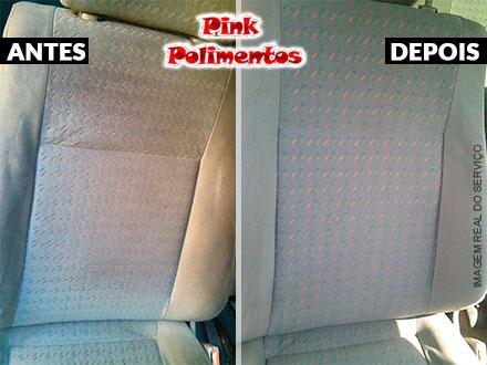Lavagem de Bancos a Seco no Pink Polimentos, por apenas 39,90. ATENDIMENTO IMEDIATO!