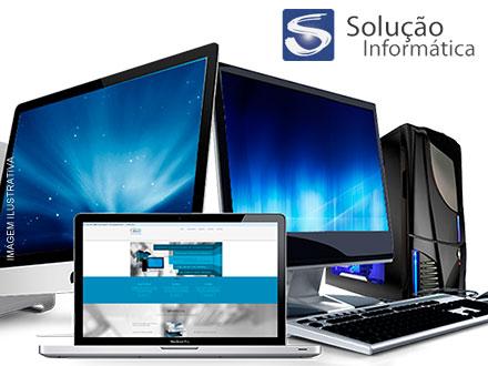 Formatação (Desktop, Notebook ou Netbook) + Backup (Até 15Gb) + Instalação de Softwares na Solução Informática, por 24,90.