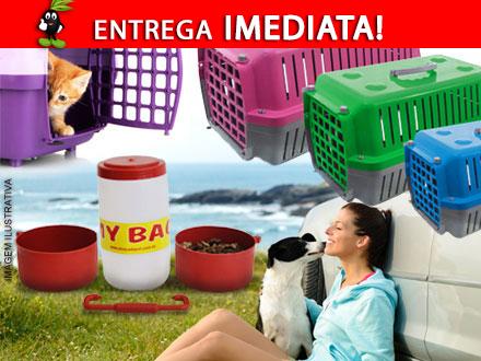 Não deixe seu Pet fora de suas viagens! Caixa de Transporte + My Bag a partir de 75,90. Entrega Imedita Frete incluso!