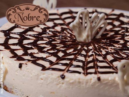 Escolha uma entre as deliciosas Tortas da Doceria Nobre: Holandesa, Mousse de Chocolate ou Mousse de Leite Ninho: 34,00.