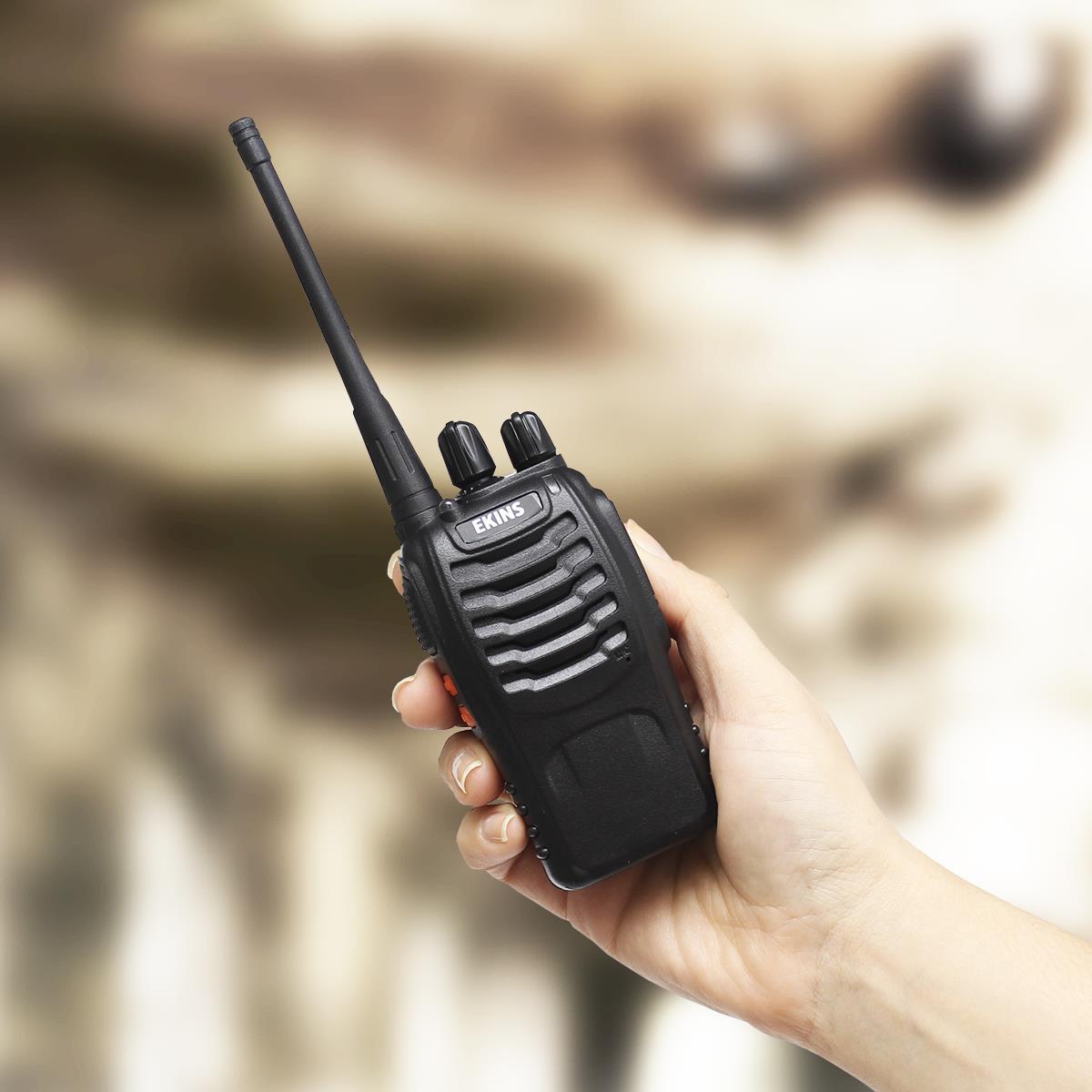 Radio Comunicador Walk-Talk Profissional 16 Canais Ekins - QE. De 469,90 por 329,90.