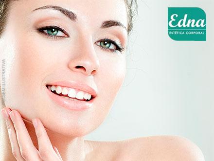 Peeling Químico + Eletrolifting + Revitalização Facial na Edna Beleza Corporal, de 270,00 por apenas 49,00.