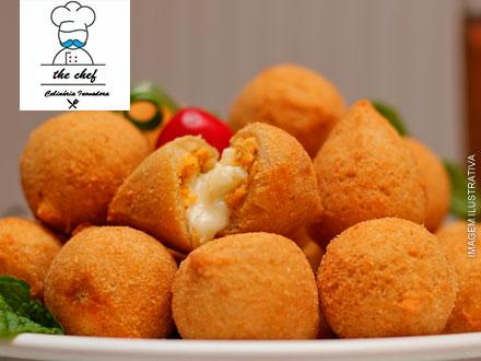Coxinhas Gourmet - 12 Coxinhas + Entrega no The Chef – Culinária Inovadora, por apenas 9,90.