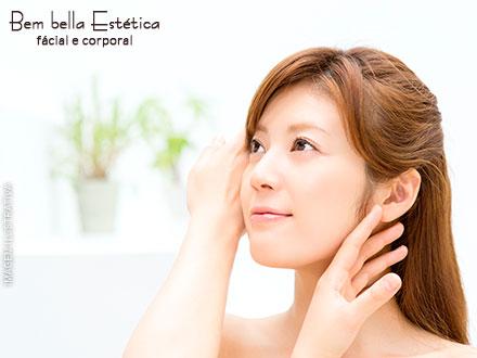 Limpeza de Pele Profunda com Extração de Cravos + Esfoliação + Máscara Revitalizante na Bembella Estética, por 39,90.