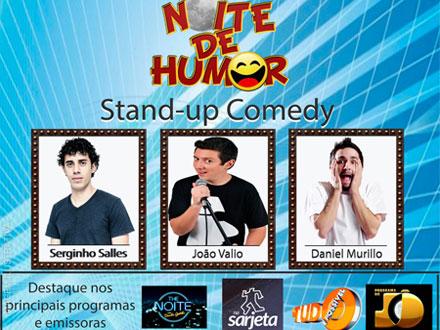 Noite de Humor com o Espetáculo ´Stand-up` no Teatro Judas Iscariotes. Ingresso de 50,00 por apenas 19,00.
