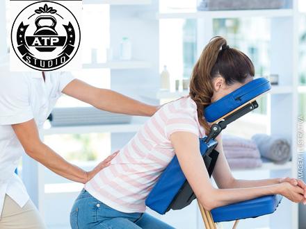 Fique em pleno relaxamento! Sessão de Quick Massage no ATP Studio, de 24,90 por apenas 9,90.