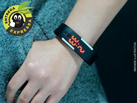 Pulseira Relógio Digital, por apenas 21.50. Frete incluso para todo o Brasil!