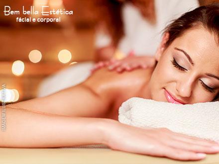 Sessão de Massagem Relaxante + Esfoliação Corporal + Esteira Massageadora na Bembella Estéica, por apenas 29,90.