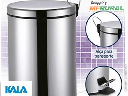 Lixeira em Aço Inox Com Pedal Kala + Frete Grátis à partir de R$ 74,90.