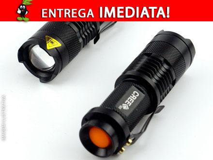 Lanterna Militar CREE 2000 LM LED, por apenas R$ 45,90. Frete Incluso para todo o Brasil!
