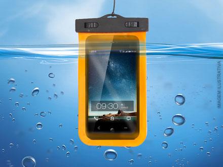 Case para Smartphones Universal (A Prova d´água)  por apenas 23,90. Frete Grátis para todo o Brasil!