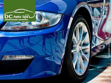 Polimento + Cristalização + Lavagem Externa + Limpeza Interna no DC Auto Spa, de 200,00 por apenas 69,99.