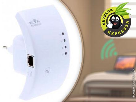 Repetidor Expansor Sinal Wireless 2 Antenas 300mbps B/g/, por apenas 94,50. Frete grátis para todo o Brasil!