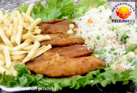 Tilápia à Grega no Peixinhos Restaurante, de 70,00 por 34,90. Serve até 3 pessoas!