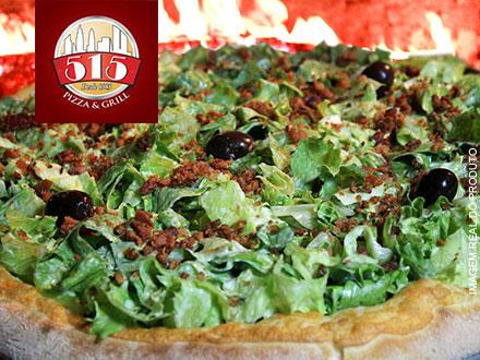 No 515 todo dia é dia da Pizza!! Escolha entre: Excelente, Pepperoni ou Berinjela por apenas 29,99.