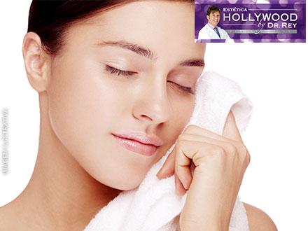 Sua pele macia como um pêssego! 3 Peeling de Cristal ou Diamante + Máscara na Estética Hollywood, por apenas 79,90.