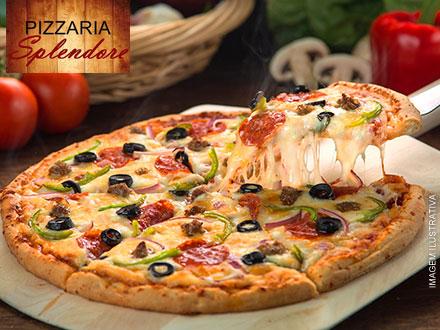 Rodízio Individual de Pizzas na Pizzaria Splendore, por apenas 22,90. São 40 sabores diferentes! Atendimento imediato!