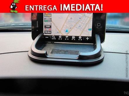Tapete Gel Antiderrapante - Para fixar objetos no console do carro + Função GPS apenas 35,90. Entrega Imediata Frete Incluso!