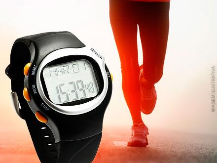 Relógio LED + Monitor Cardíaco + Sensor de Calorias por apenas 51,90. Frete Grátis para todo Brasil