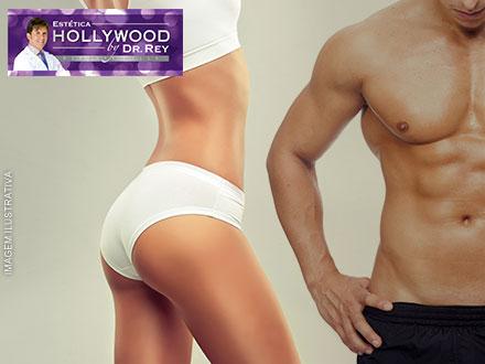 Diga ´Adeus` as gordurinhas! Sessão de Criolipólise na Estética Hollywood. 1 ou 2 Áreas, a partir de 349,90.