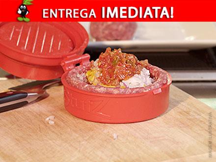 Faça seu hambúrguer caseiro! Prensa de Hambúrguer Manual, por apenas 38,90. Frete Incluso para todo o Brasil!